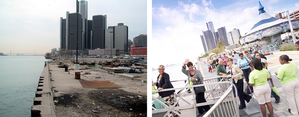 Rivard Plaza Before & After